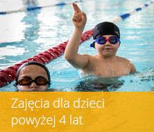 Nauka pływania dzieci powyżej 4 lat